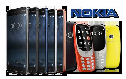 Ремонт продукции Nokia в Алматы, Астане, Уральске и Актау